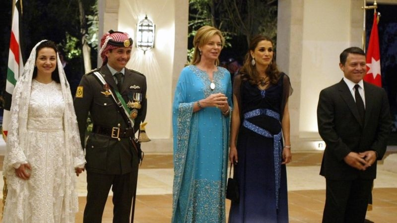 Who is Prince Hamzah accused of leading a coup against the Jordanian king?