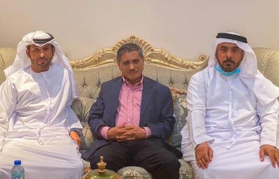 البحسني يبحث في ابوظبي منحة النفط الاماراتية وسبل إنشاء محطات بالطاقة  الشمسية في حضرموت
