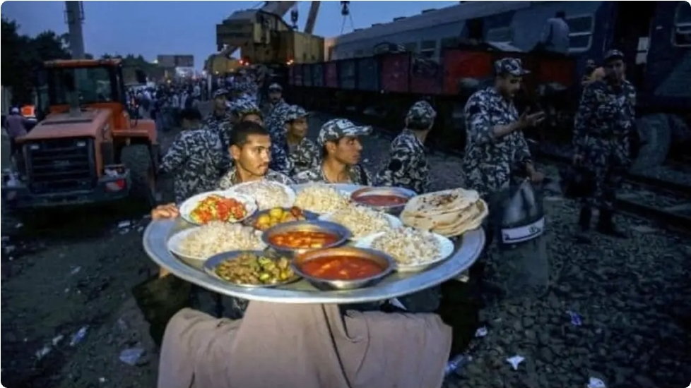 The owner of the most famous Chinese food provided to the victims of a train accident, Egypt, she speaks