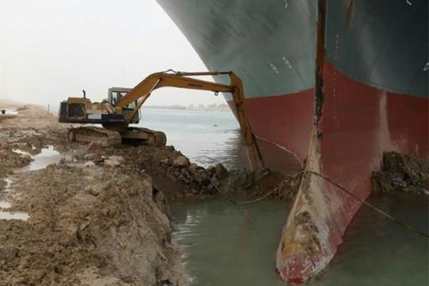 """The """"Suez Canal"""" crisis: Navigation is disrupted for the fourth day"""