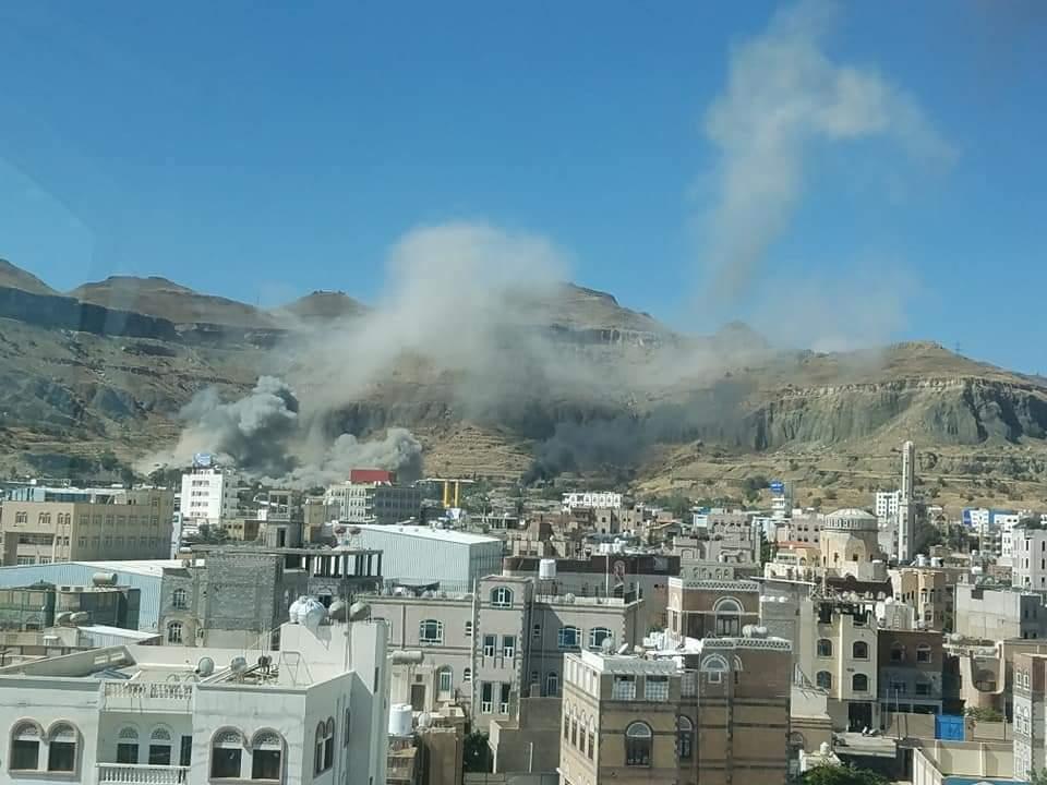 33 غارة حصيلة يوم أسود على ميليشيا الحوثي في 3 محافظات (المواقع المستهدفة)