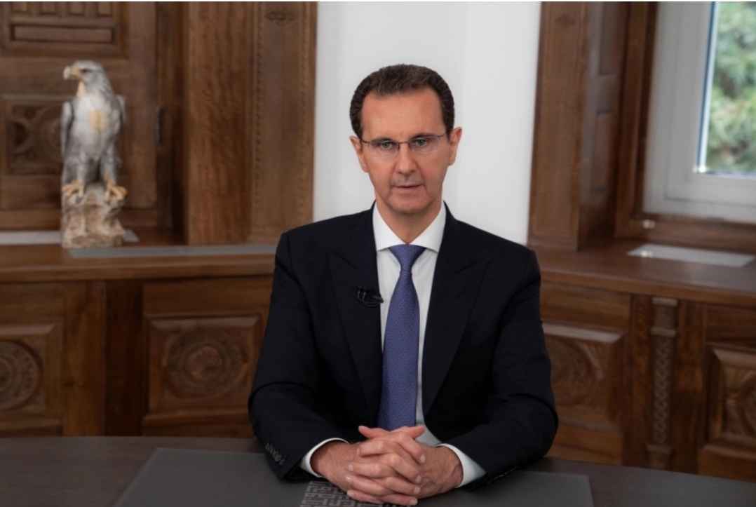 Assad congratulates the Syrians for his re-election